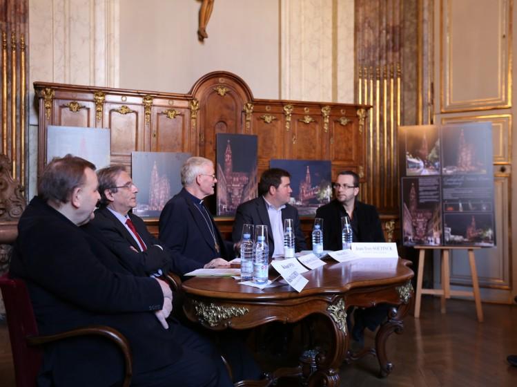 Conférence de presse Lumière Cathédrale de Strasbourg