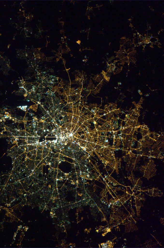 Berlin vue de nuit